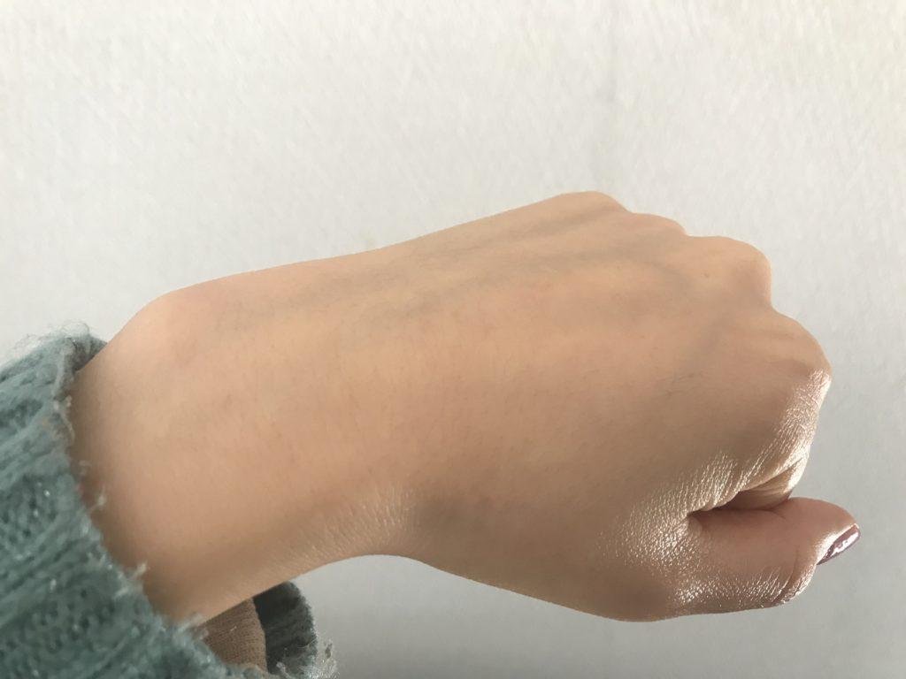 ノエビアエクストラ薬用クレンジングマッサージクリームを洗い流した後の画像