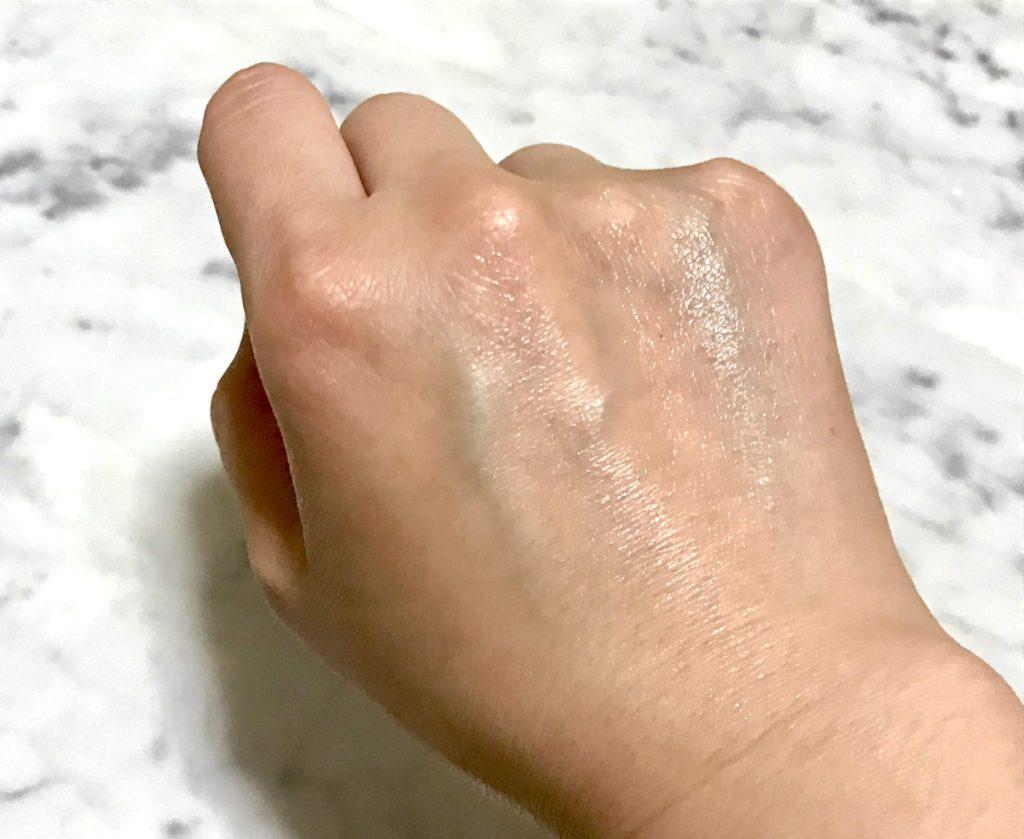 ルリフトセラム塗布