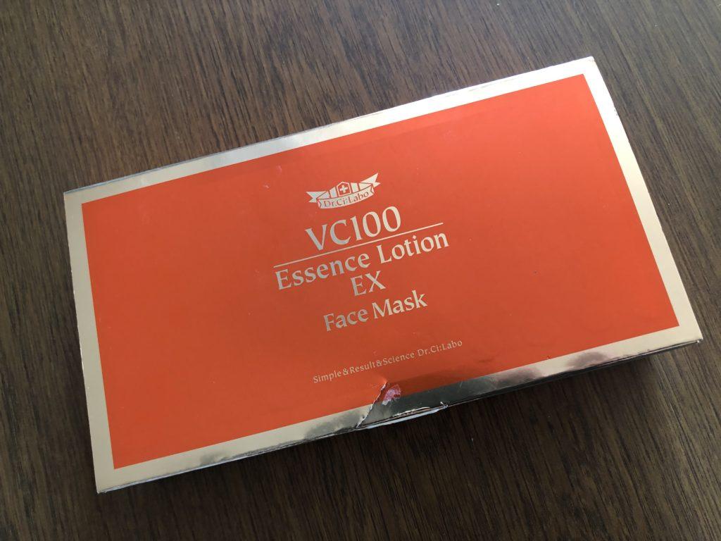 ドクターシーラボ・VエッセンスローションEXフェイスマスク・外箱の画像