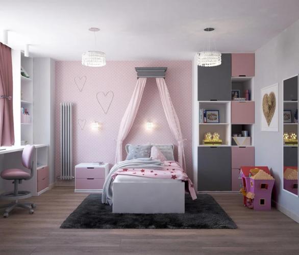 可愛い部屋の画像