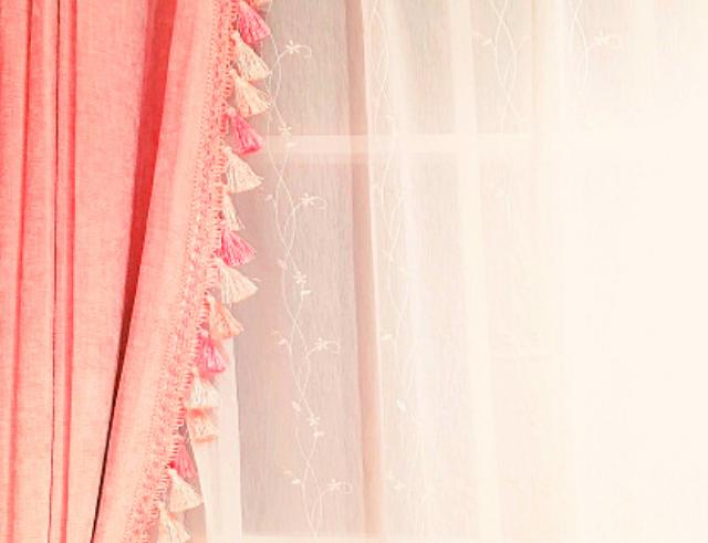 おすすめピンクカーテン