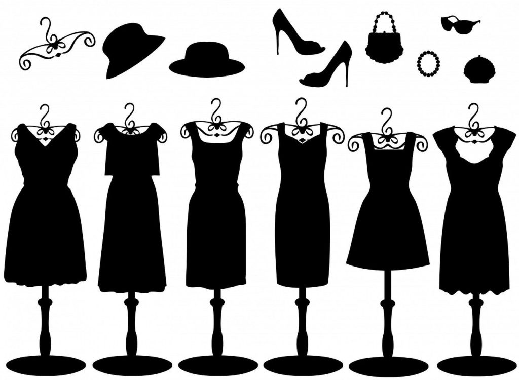 ドレスのデザインいろいろ