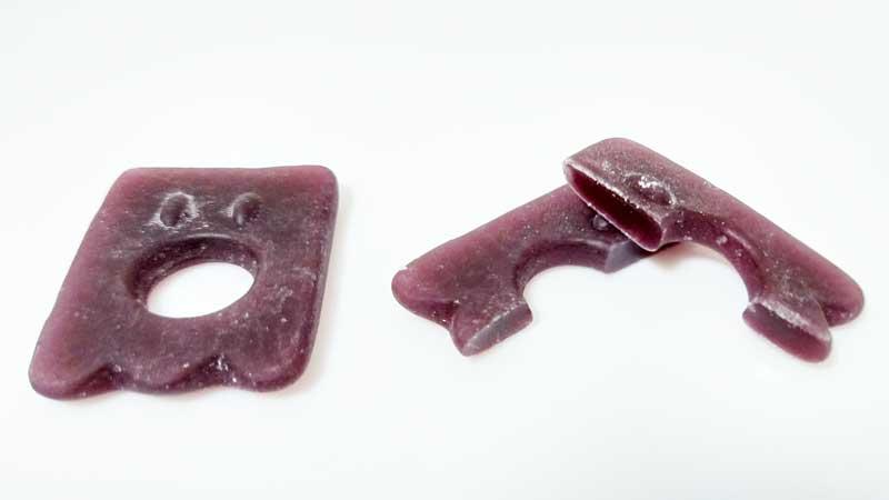 ペタグーグミ-グレープ味断面図