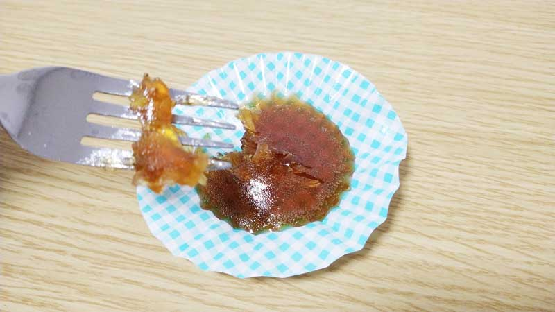 自作コーラグミ実食