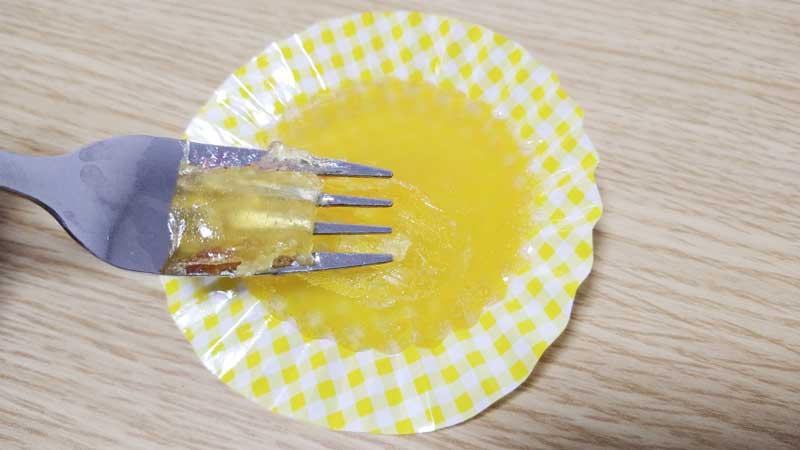 自作レモングミ実食