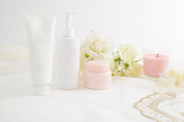 花と美容液
